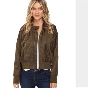 Free People Midnight Bomber Jacket Size small